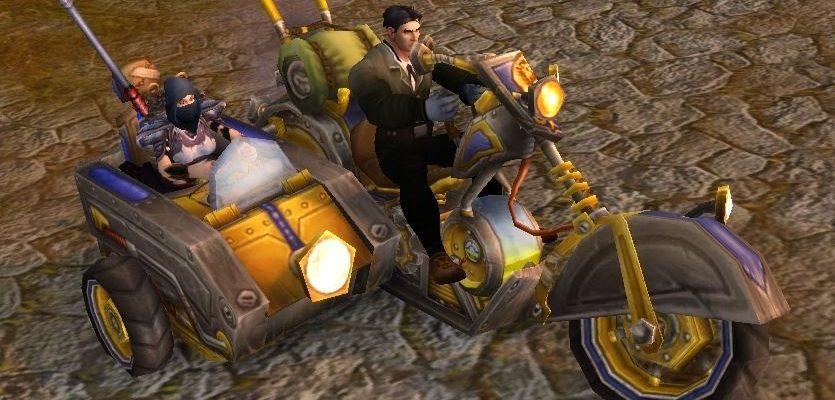 World of Warcraft: Mount ab Stufe 1?