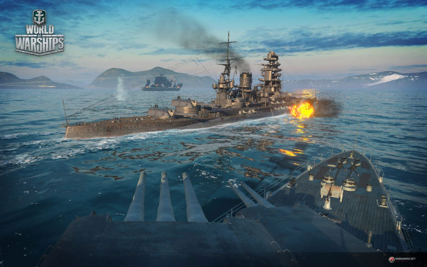 World of Warships Gameplay