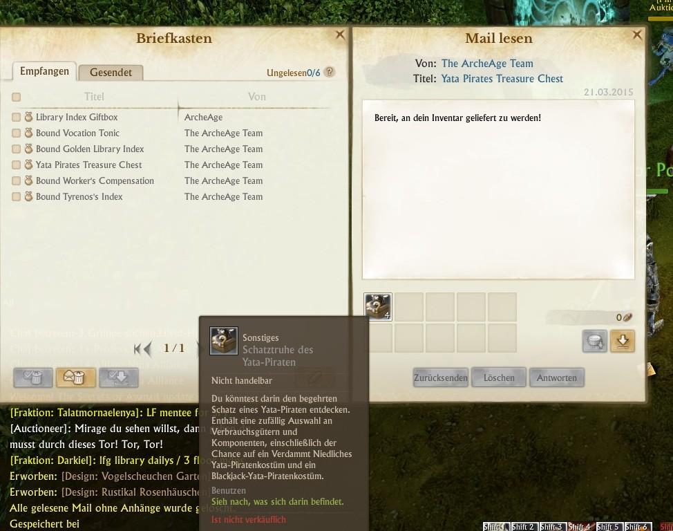 ArcheAge-Geschenke-Screen