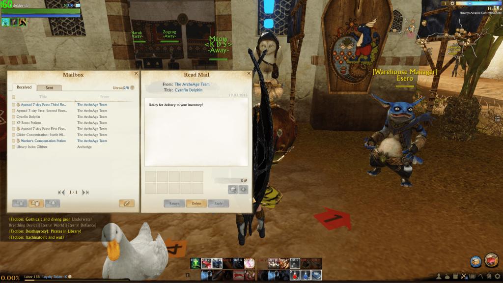 ArcheAge-Mail-Box
