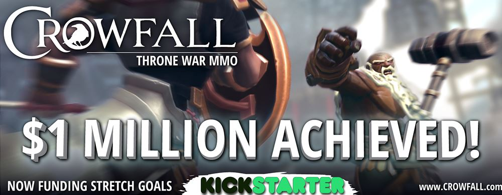 Crowfall Kickstarter 1 Million