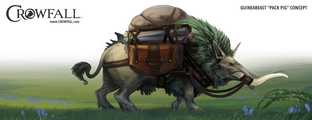 Crowfall Mount