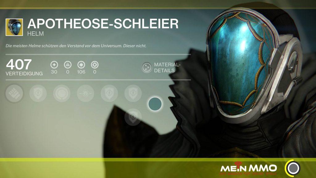 Destiny-Apotheose-Schleier