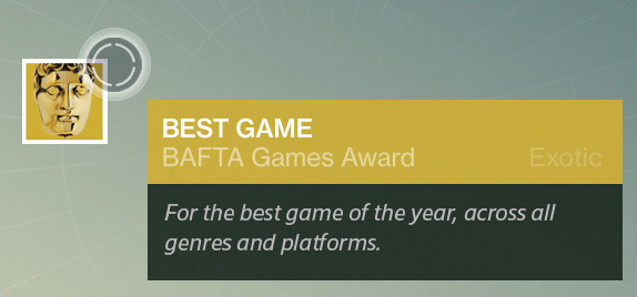 Destiny-BAfta