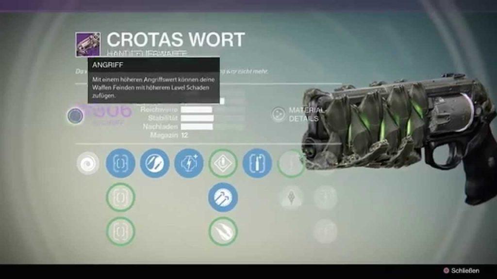 Destiny-Crotas-Wort