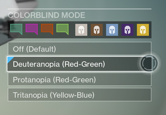 Destiny-Farbenblind