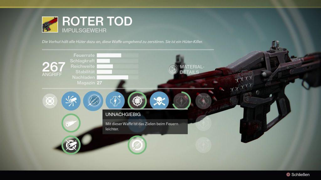 Destiny-Roter-Tod
