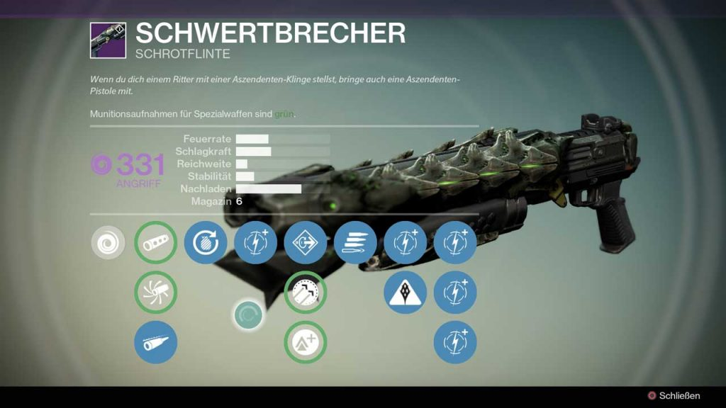 Destiny-Schwertbrecher