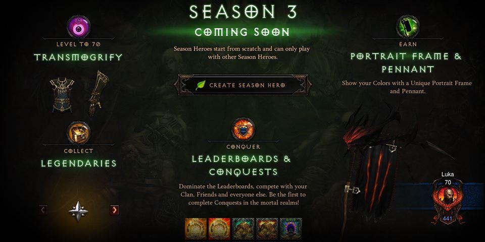 Diablo 3 Season 3