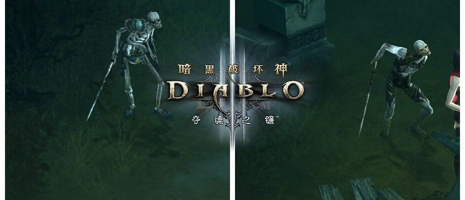 """Diablo 3: """"Skelettina! Zieh dir bitte etwas an …"""" – So sieht D3 in China aus"""