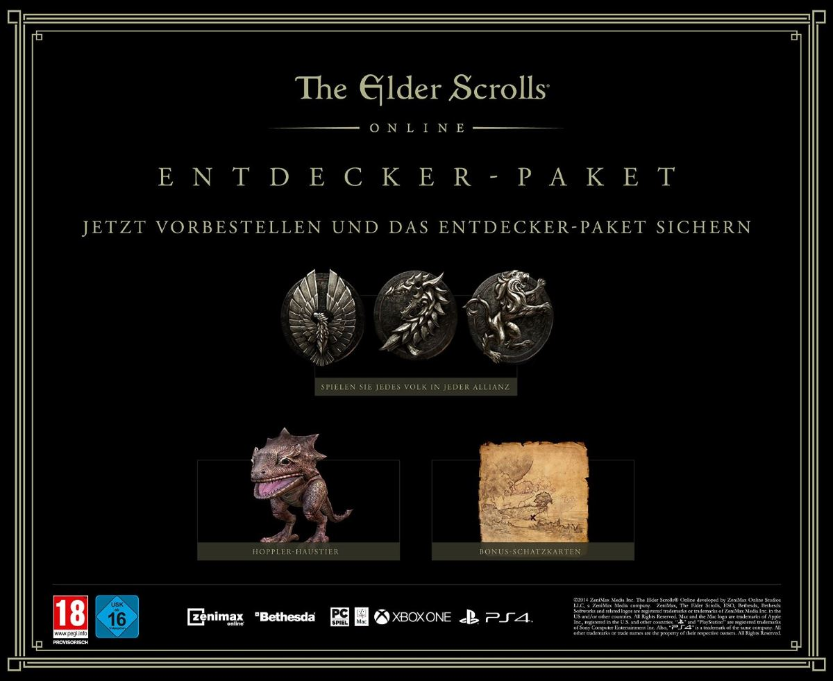ELDER SCROLL ONLINE PS4 AMAZON