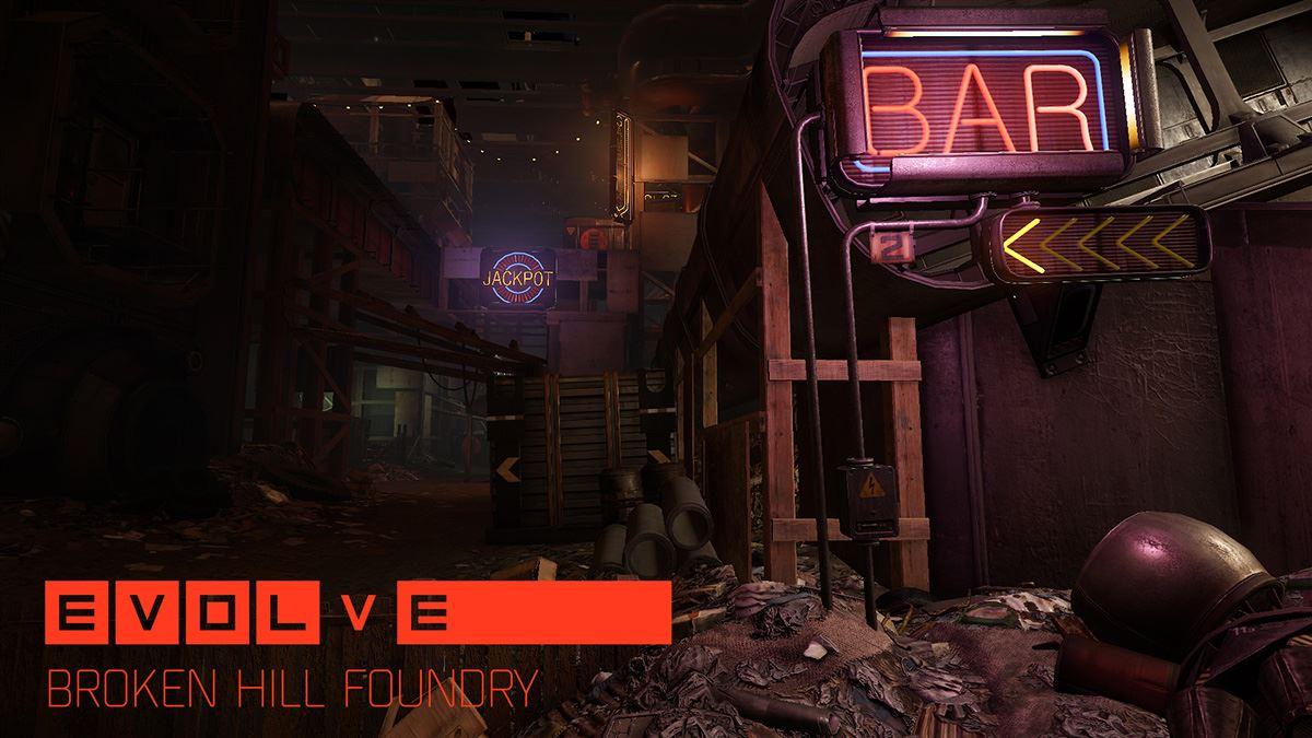 Evolve Map Broken Hill Foundry