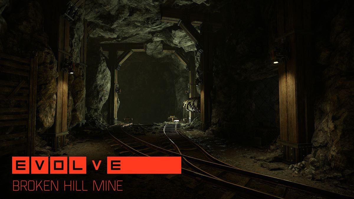 Evolve Map Broken Hill Mine