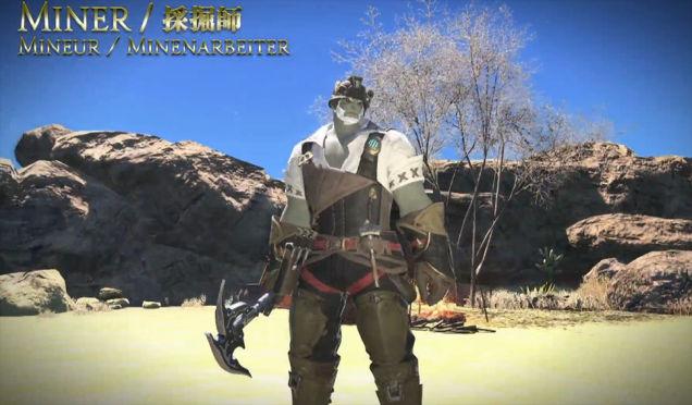 FFIX-Minenarbeiter