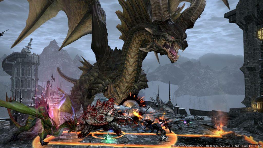 Final Fantasy XIV Bosskampf