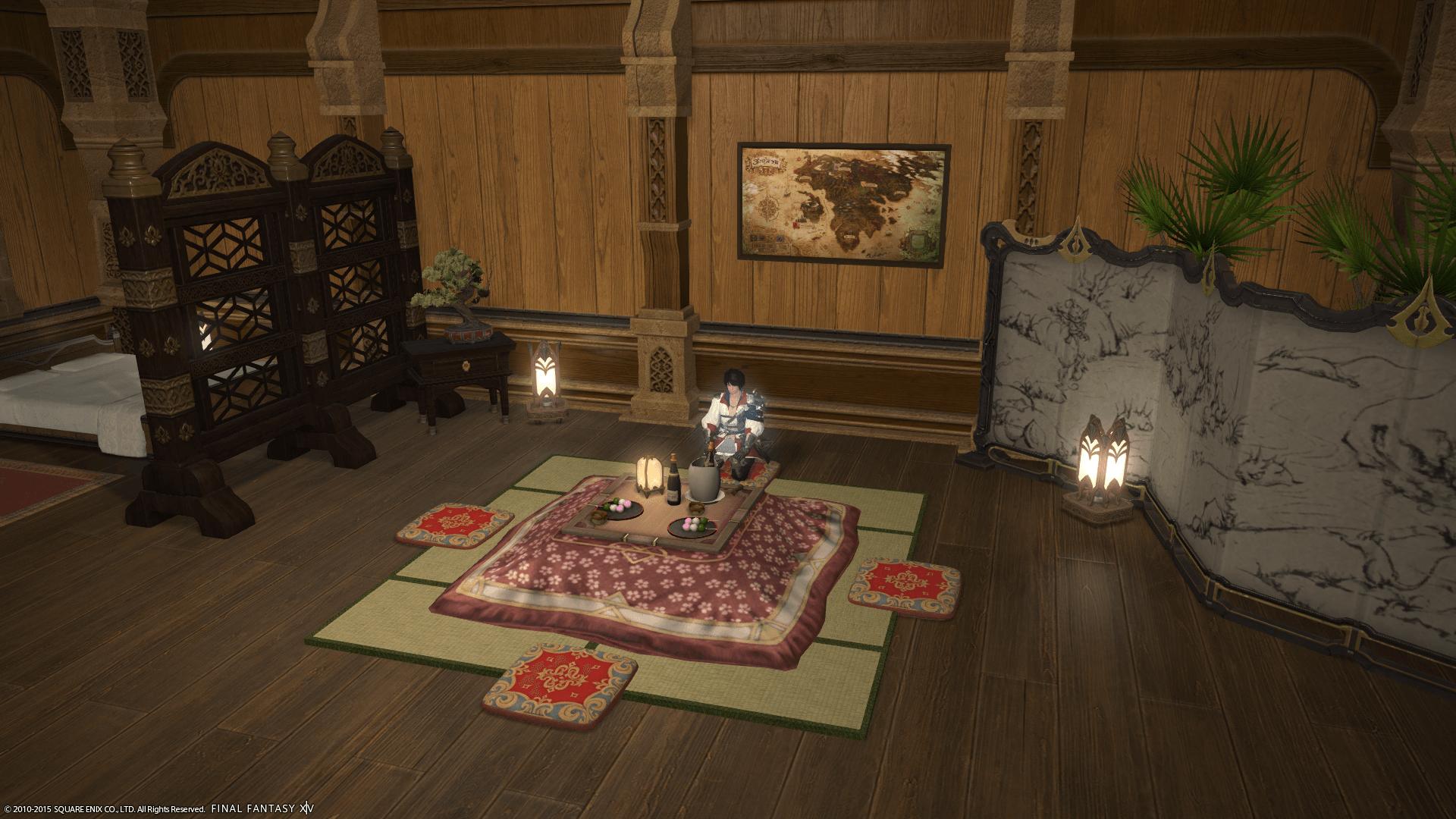 Final FantasyXIV Japanisches Zimmer
