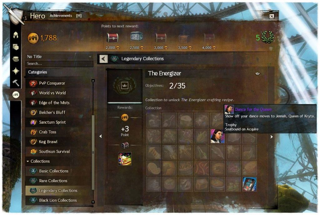 Guild Wars 2 Legendary Collection
