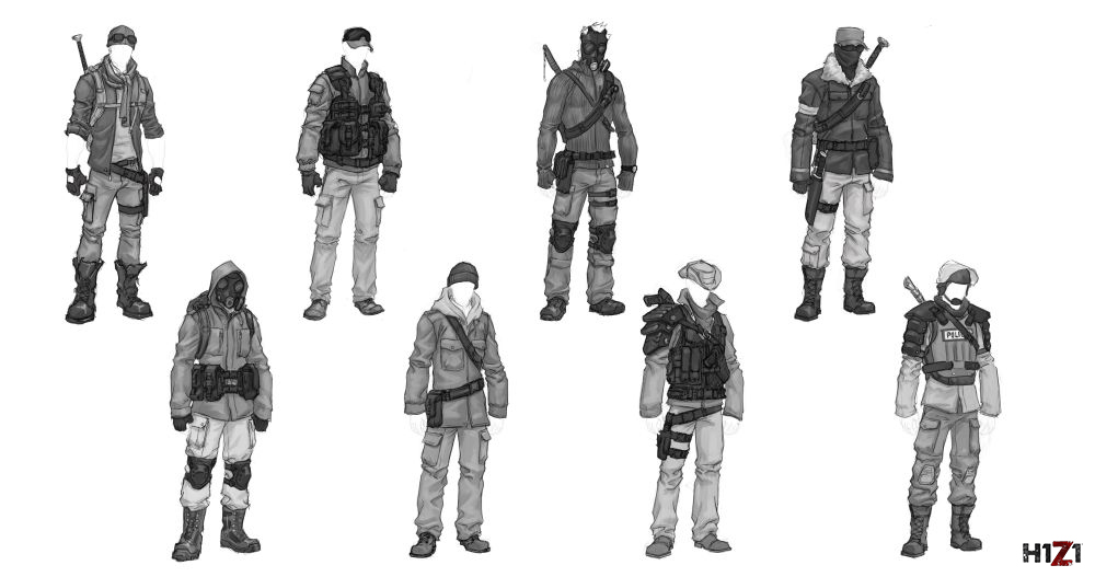 H1Z1-Outfits