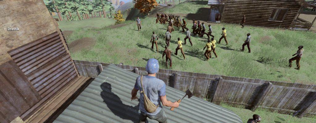 H1Z1: Zu viele Zombies – Spieler stellen sich auf die neue Situation Z ein oder auch nicht