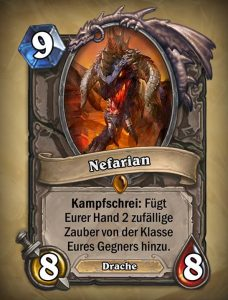 Hearthstone Nefarian
