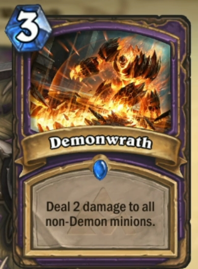 Hearthstone-Demonwrath