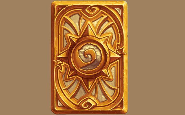 Hearthstone: Der neue Kartenrücken ist golden, funkelt und Ihr werdet ihn nie kriegen