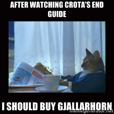 Katze-Gjallarhorn