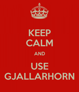 Poster-Gjallarhorn