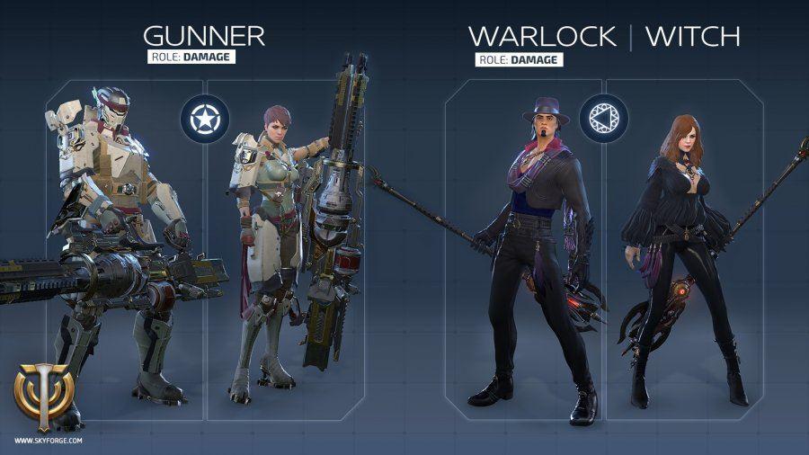 Skyforge Gunner Warlock