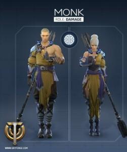 Skyforge Monk Alchemist