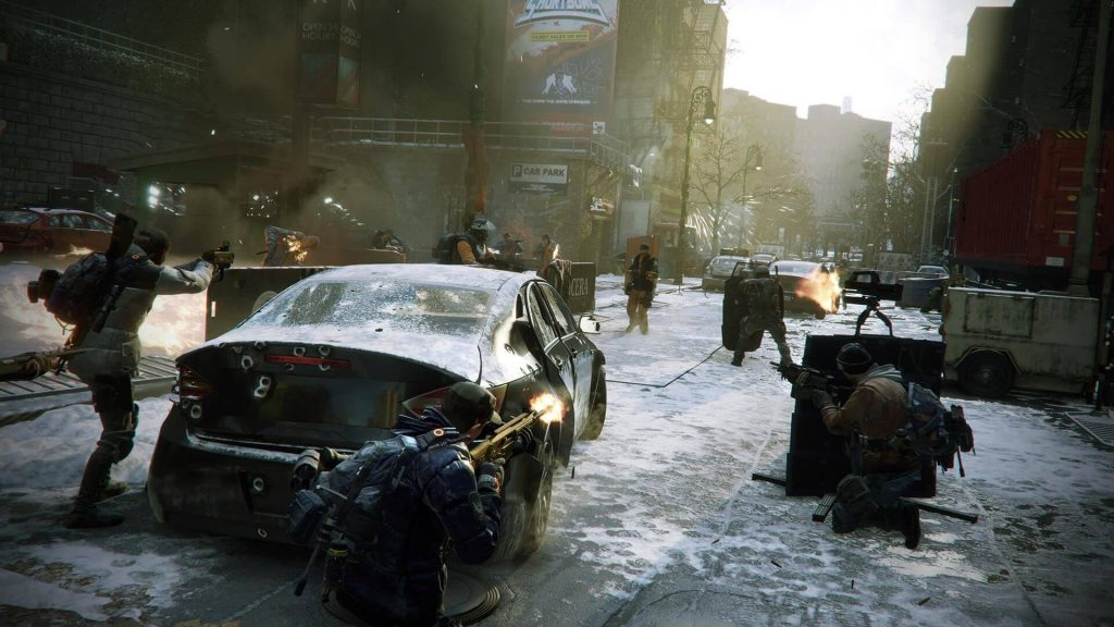 The Division Screenshot Gruppe