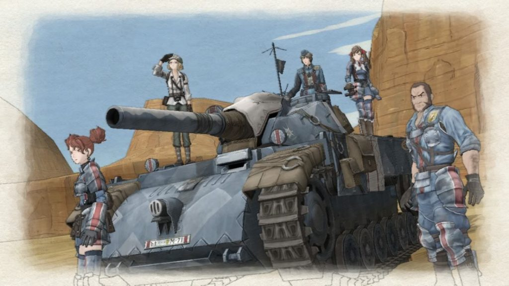 Valkyria Chronicles Charaktere