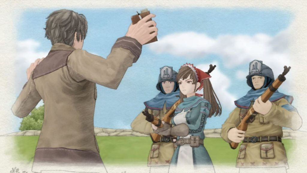 Valkyria Chronicles Szene
