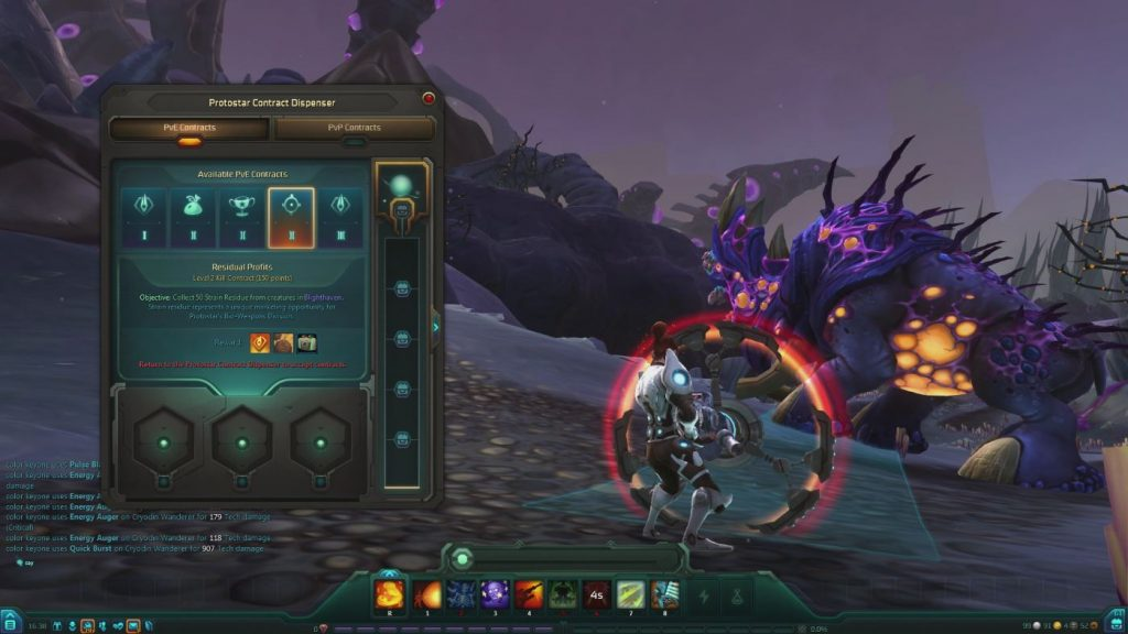 WildStar Contracts-System