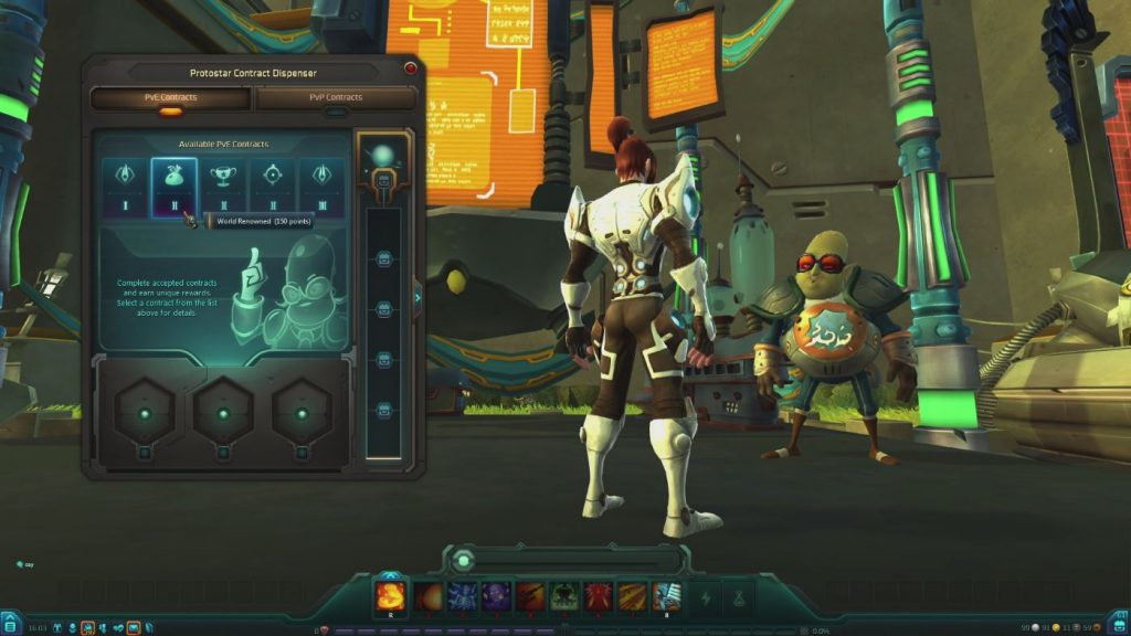 WildStar Contracts-System PvP PvE