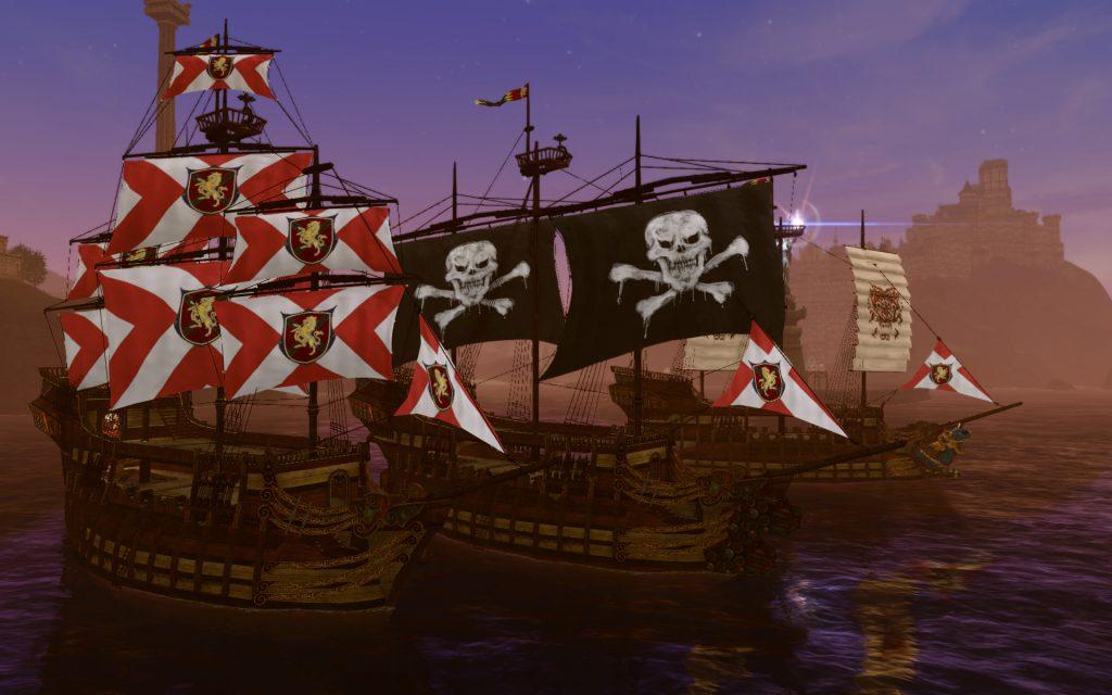ArcheAge-Piratenschiffe