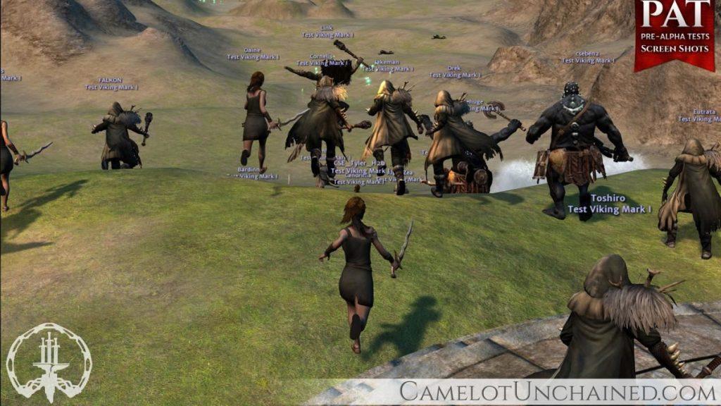 Camelot Unchained Alpha ScreenshotCamelot Unchained Alpha Screenshot