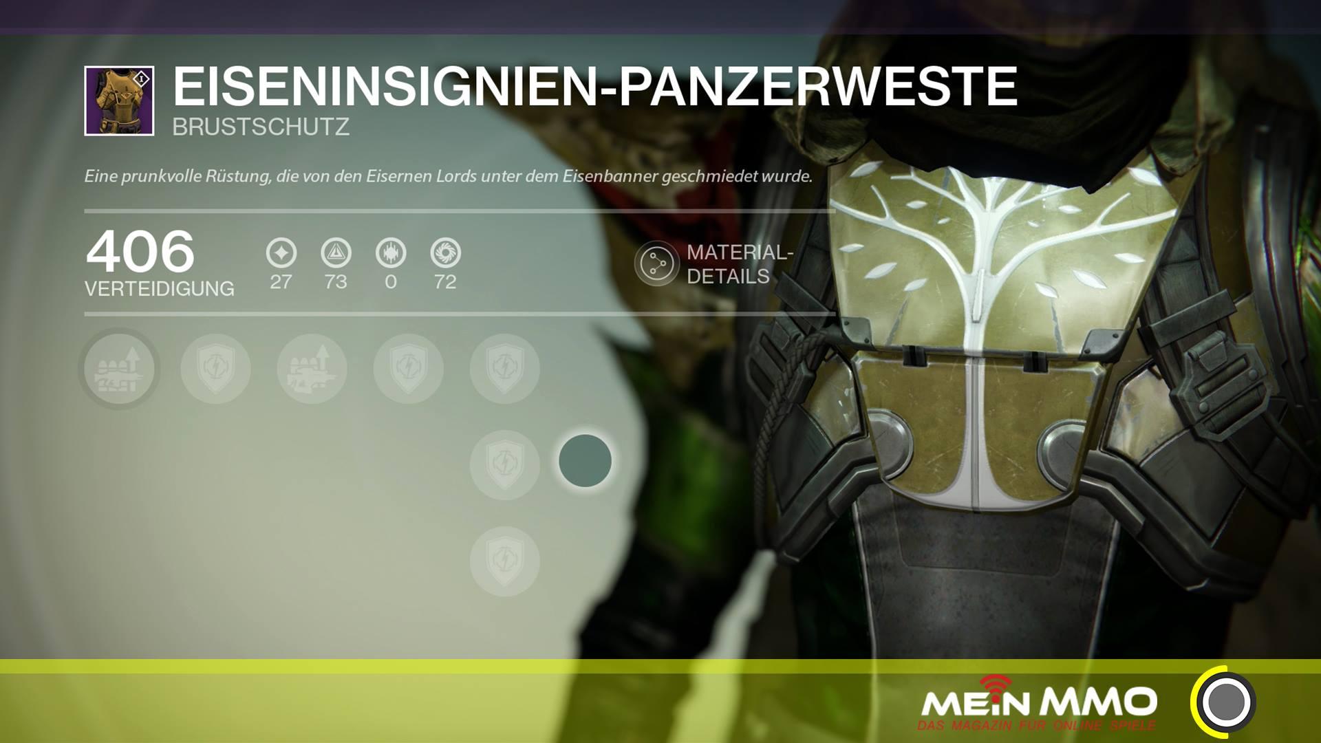 Destiny-Eisenbanner-Panzerweste
