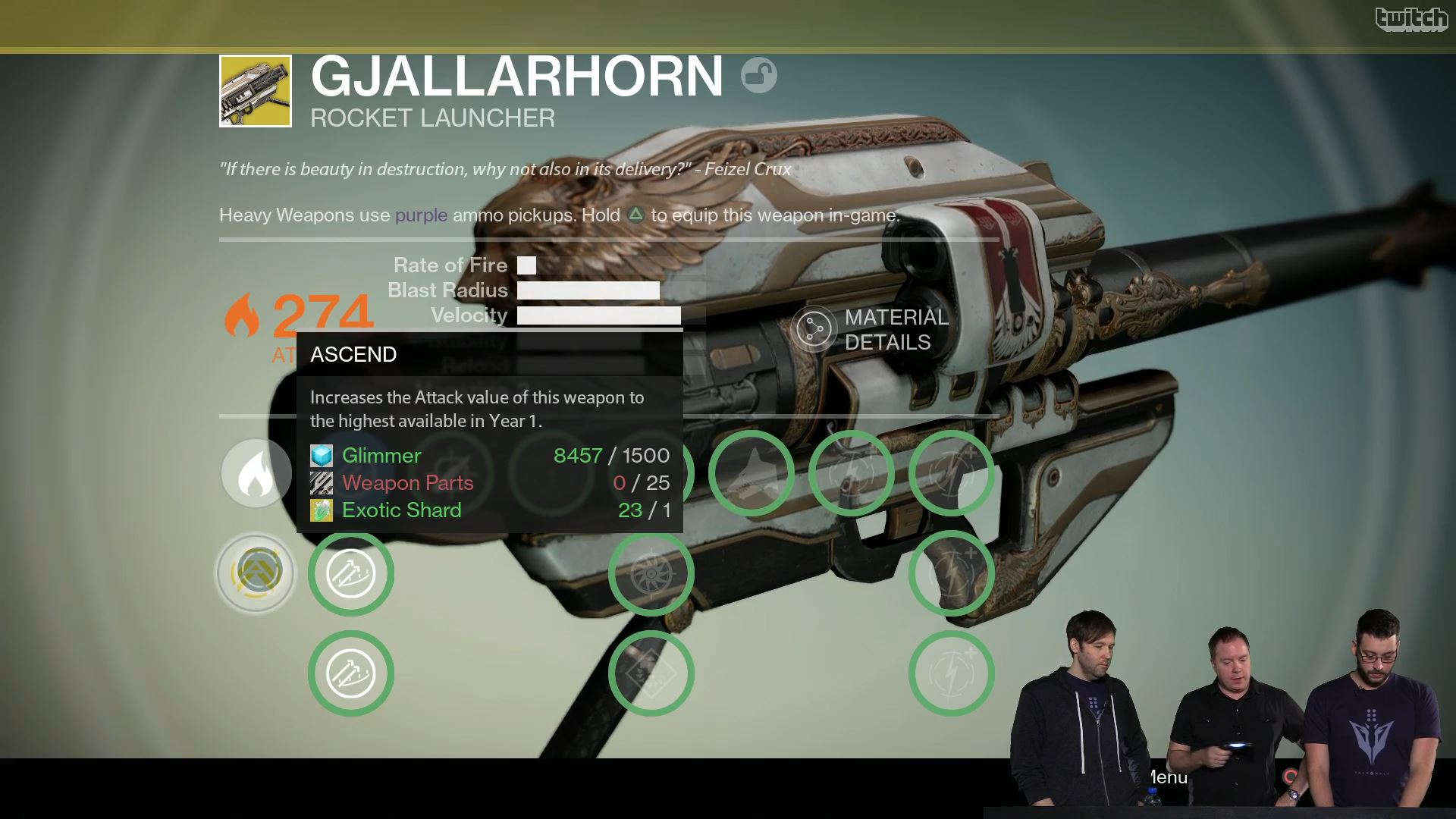 Destiny Gjallahorn Upgrade