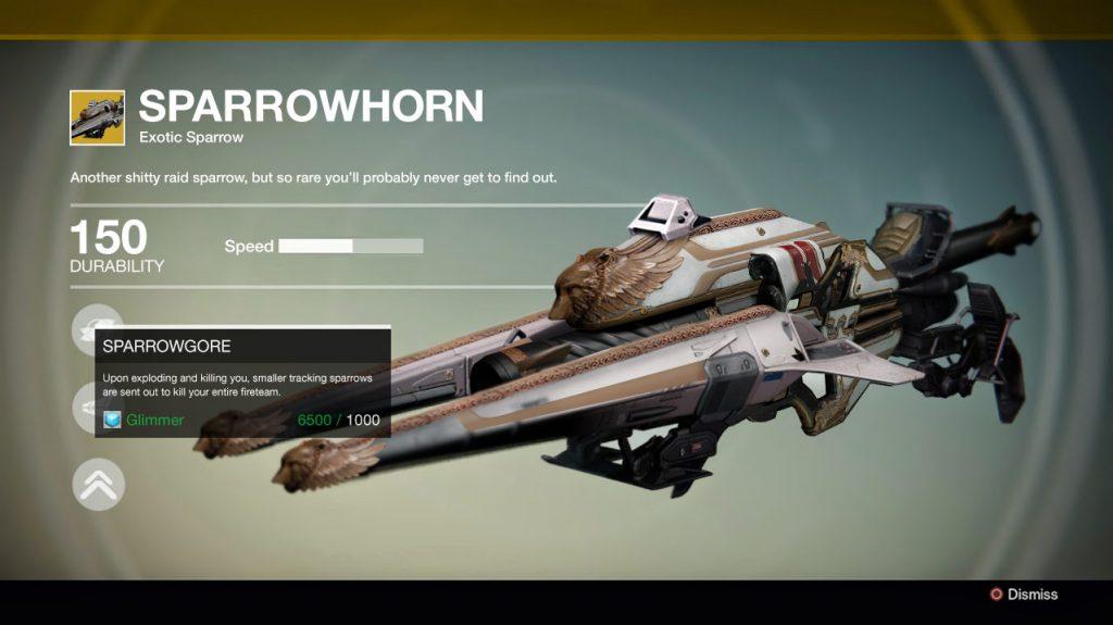 Destiny-Sparrowhorn