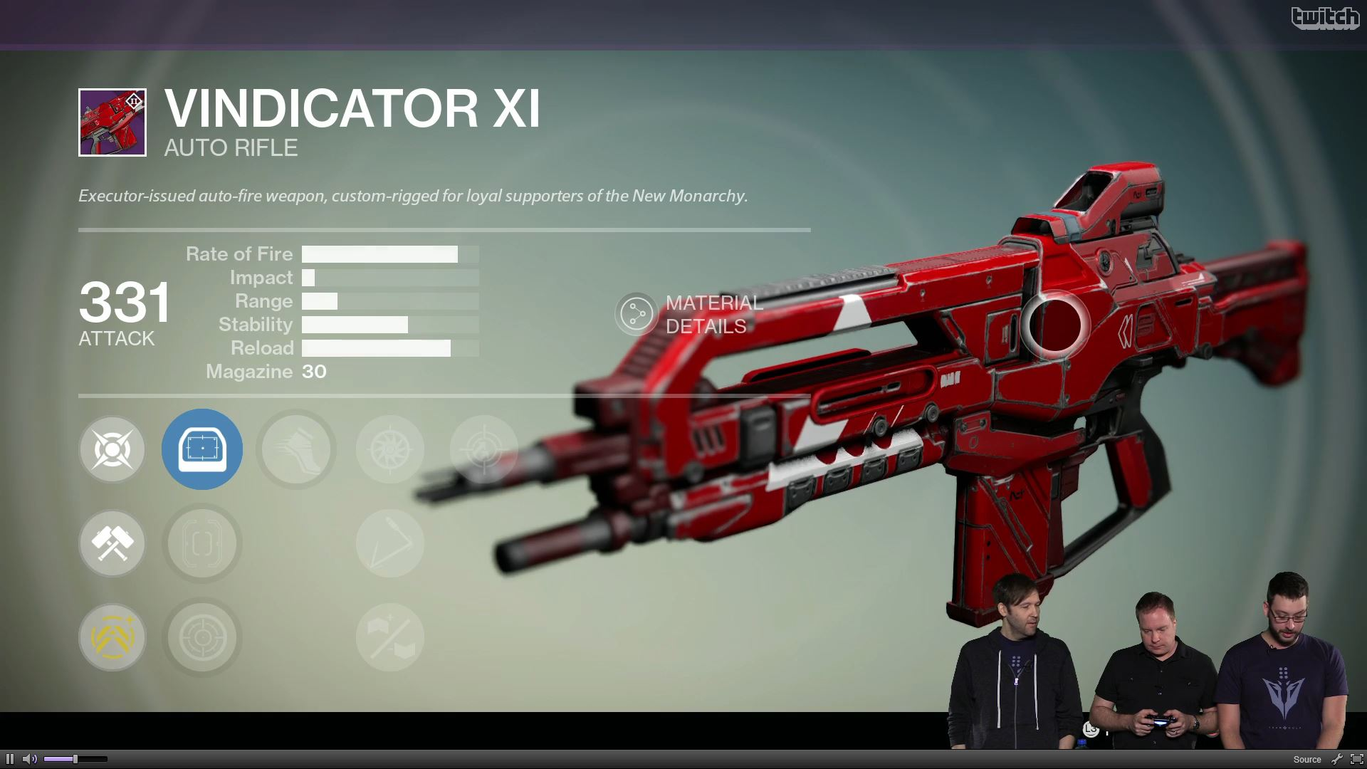 Destiny Vindicator