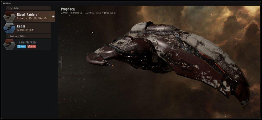 EVE Online Ship Skins