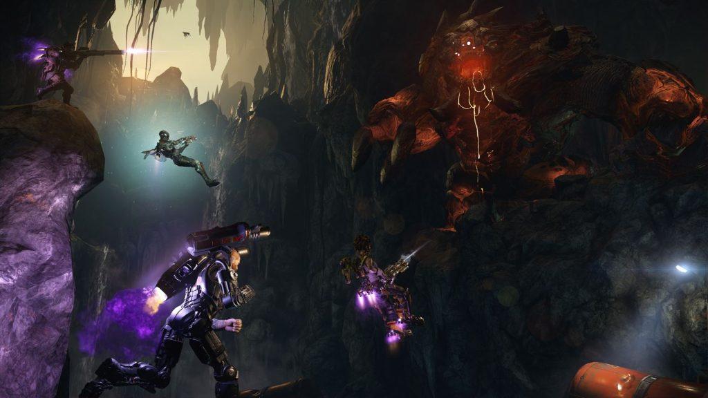 Evolve Behemoth Hunter Gameplay