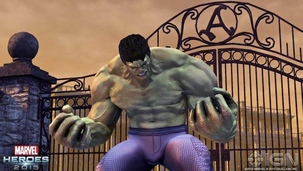 Marvel Heroes Hulk 2
