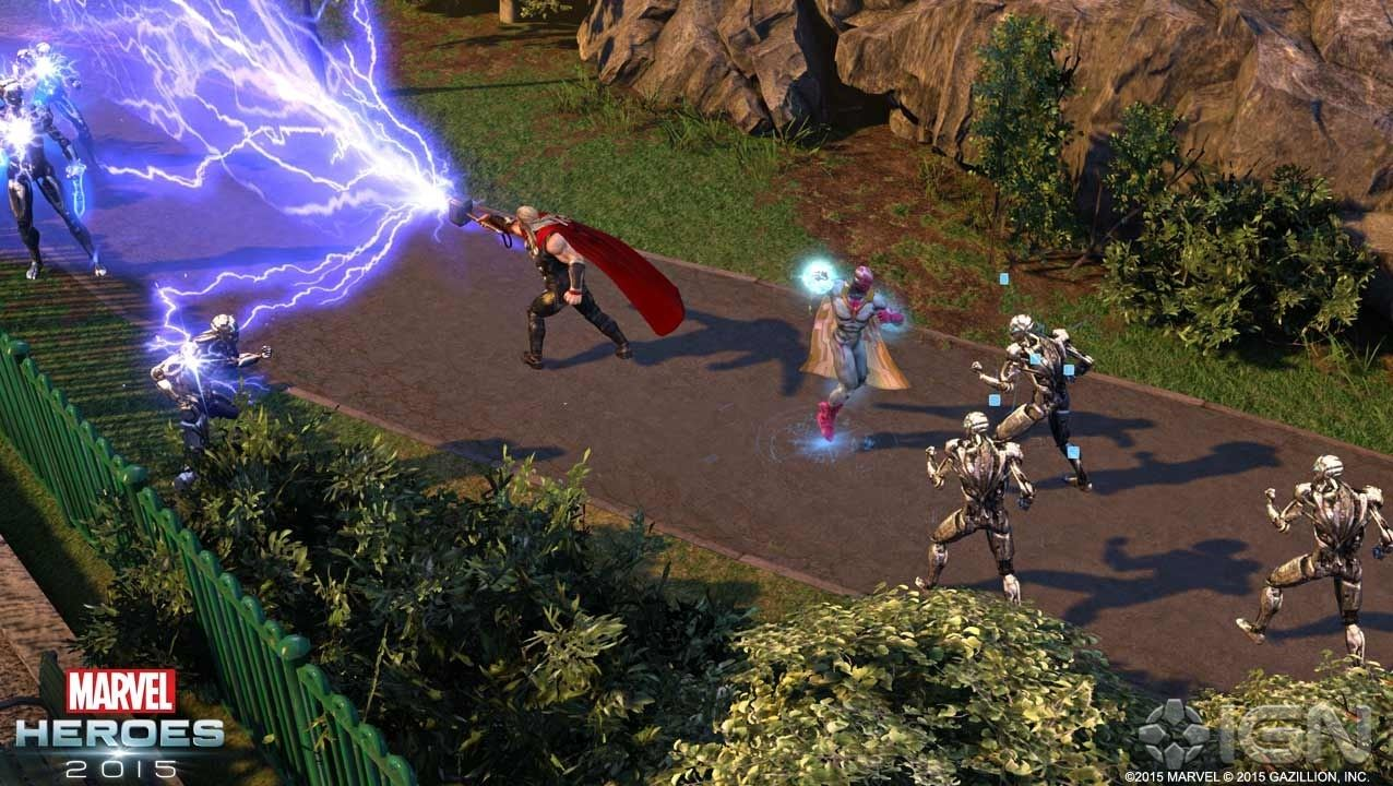 Marvel Heroes Thor Gameplay