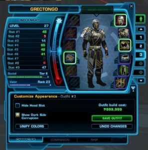Outfit Designer SWTOR