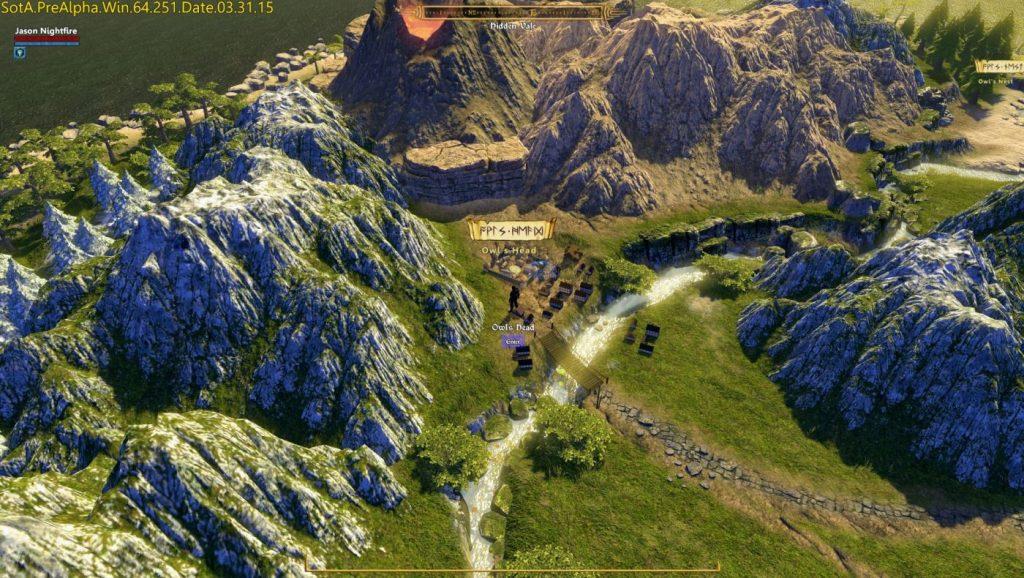Shroud of the Avatar Weltkarte