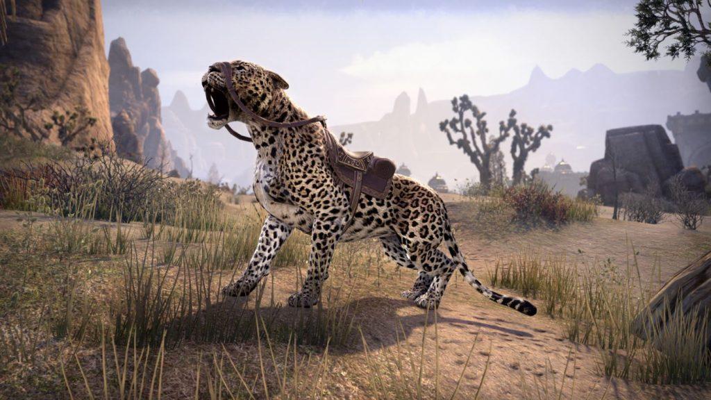 The Elder Scrolls Online - Sencheleopard TESO