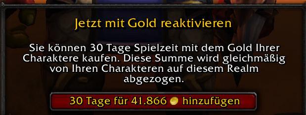 WoW-Goldmünze