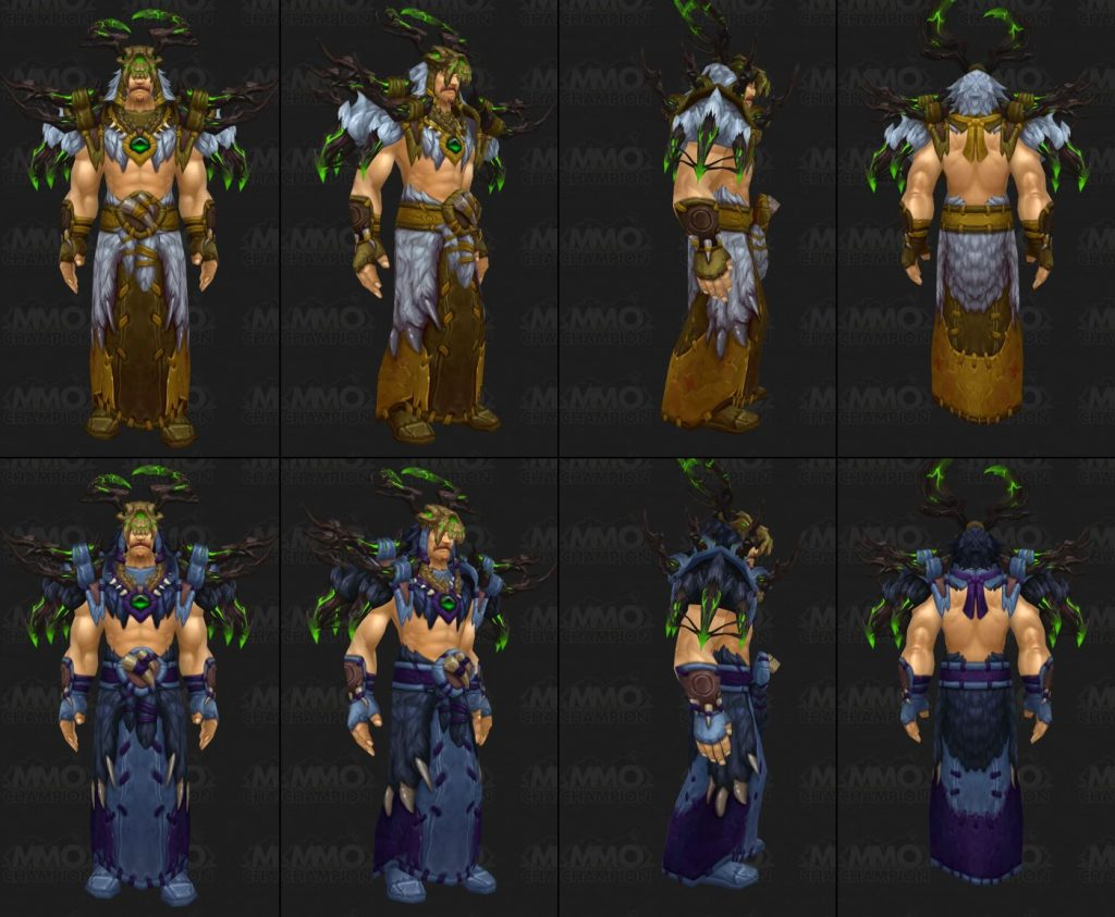 WoW Tier 18 Druid Mythic ROUGH